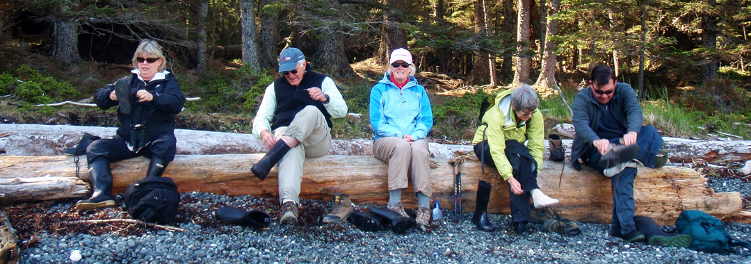 changing-boots-on-the-beach-before-a-hike