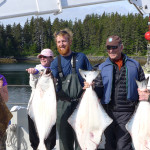 A good catch of halibut!