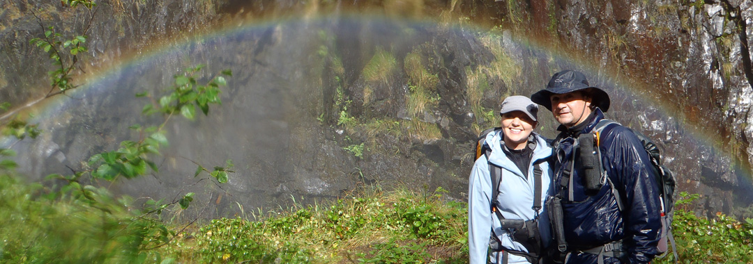 Hiking southeast Alaska on a small boat cruise
