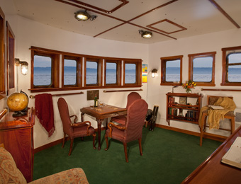 The Mist Cove's forward observation room